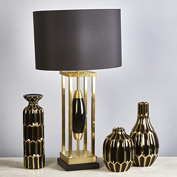 Amazon.com: Sagebrook Home 50082-01 - Lámpara de mesa (metal ...