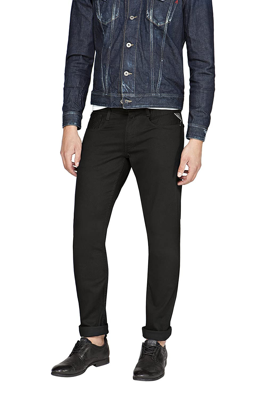 Replay Mens Anbass Slim Jeans