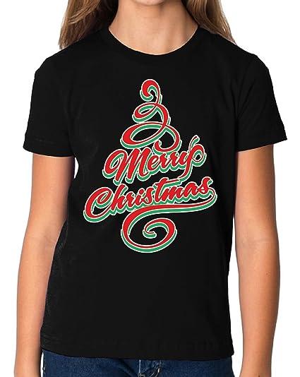 vizor merry christmas tshirt for kids christmas shirts for boys and girls xmas gift black s - Christmas Shirts For Boys