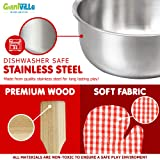 Toy Kitchen Play Set, 10 Piece Bundle - Stainless