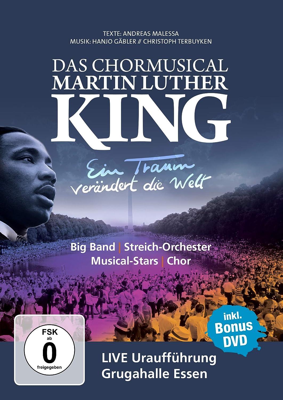 Cover: Martin Luther King - ein Traum verändert die Welt : das Chormusical 2 DVD-Videos (circa 70 min)