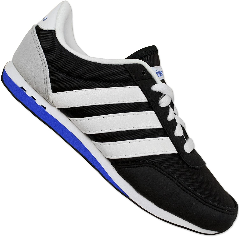 mercado Estallar Machu Picchu  Adidas Neo Label V Racer Nylon Boys Trainers Kids Shoes Black and White  black Size: 12.5K: Amazon.co.uk: Shoes & Bags