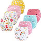 8 Pack Potty Training Pants for Boys Girls, Learning Designs Training Underwear Pants