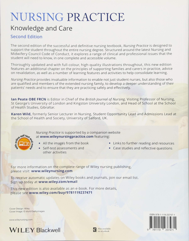 Nursing Practice: Knowledge and Care: Amazon.co.uk: Ian Peate, Karen ...
