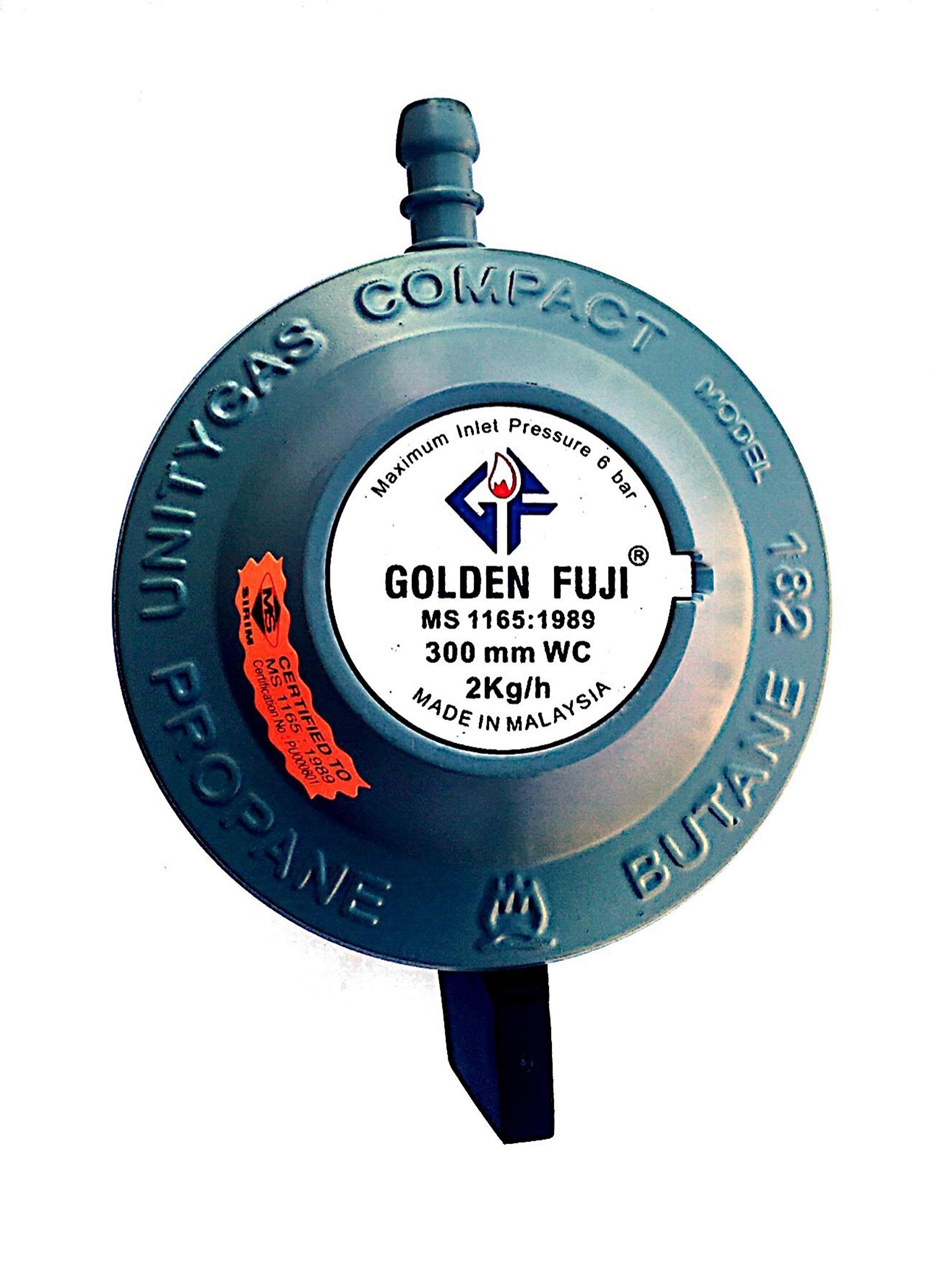 LPG Gas Regulator 21mm Golden Fuji - Malaysia