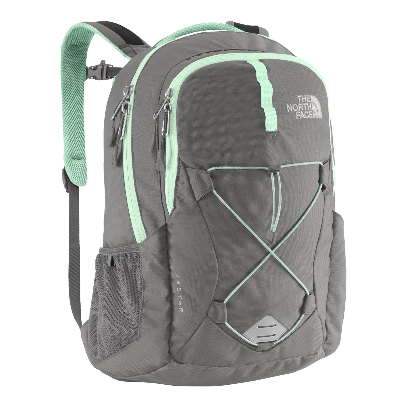 The North Face Women's Jester Zinc Grey/Surf Green by The North Face