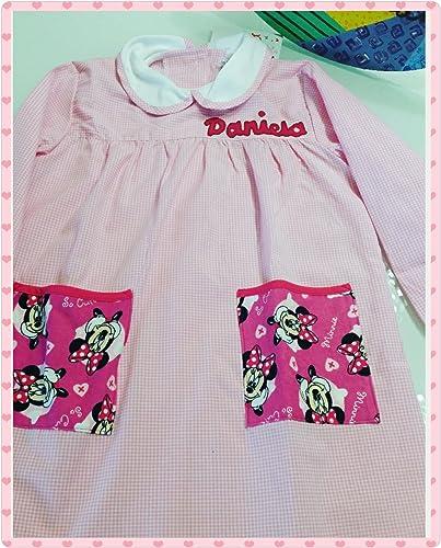 Bata escolar colegio personalizada Minnie