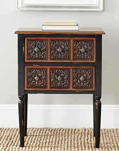 Safavieh American Homes Collection Kenneth Dark Brown Side Table