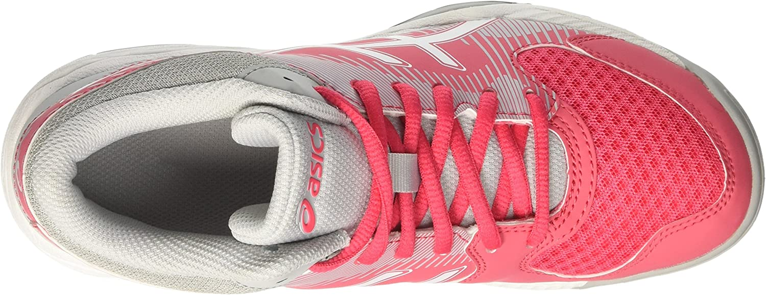 Asics Damen Gel-Task Mt Volleyballschuhe Mehrfarbig (Rouge Red/White/Mid Grey)