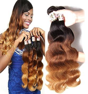 Amazon bf hair brazilian virgin ombre hair body wave weft 3 bf hair brazilian virgin ombre hair body wave weft 3 bundles 100 unprocessed human hair solutioingenieria Choice Image