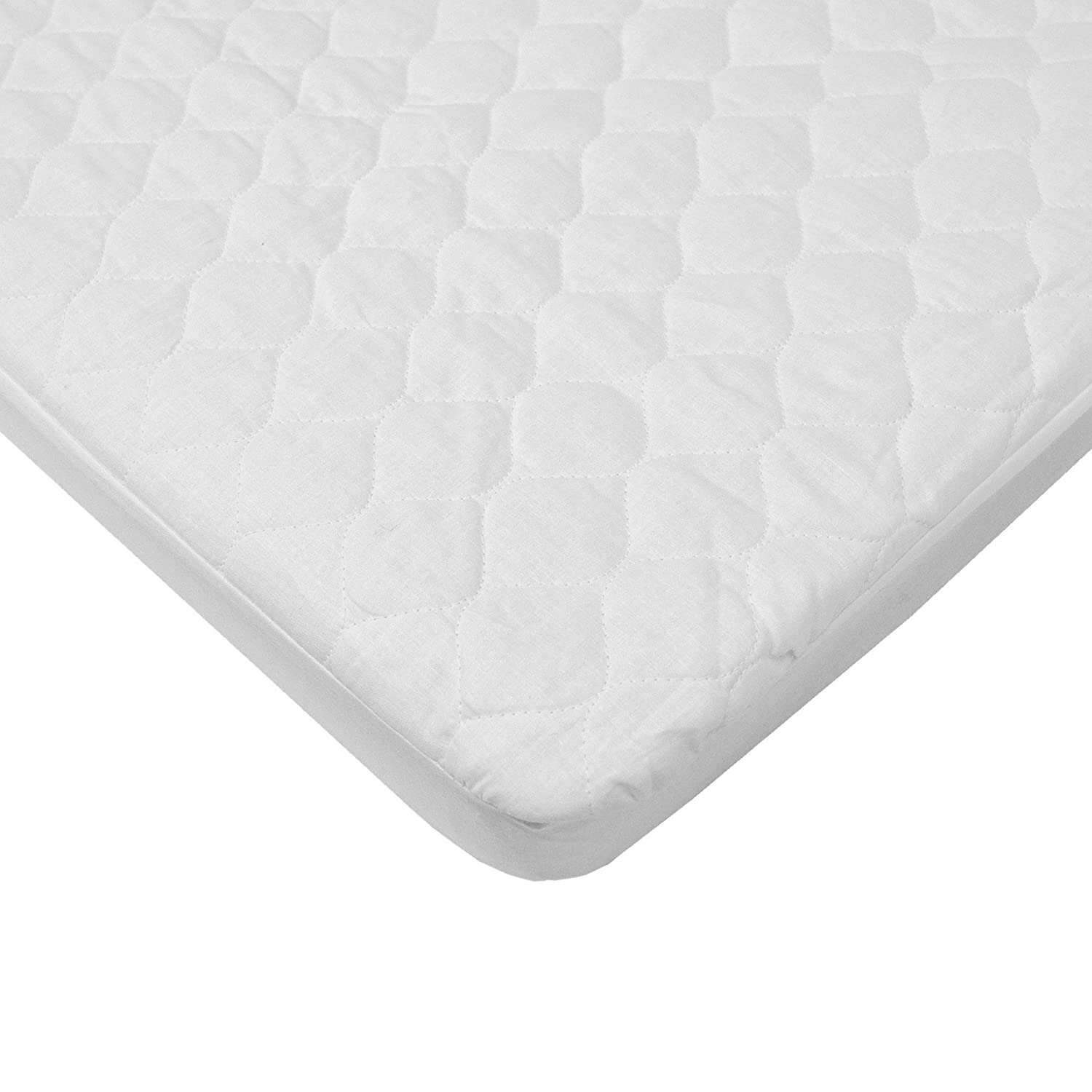 Amazon.com : American Baby Company Waterproof fitted Quilted Portable/Mini  Crib Mattress Pad Cover : Pack And Play : Baby