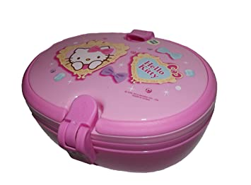 Hello Kitty - Tupper con cubiertos shine