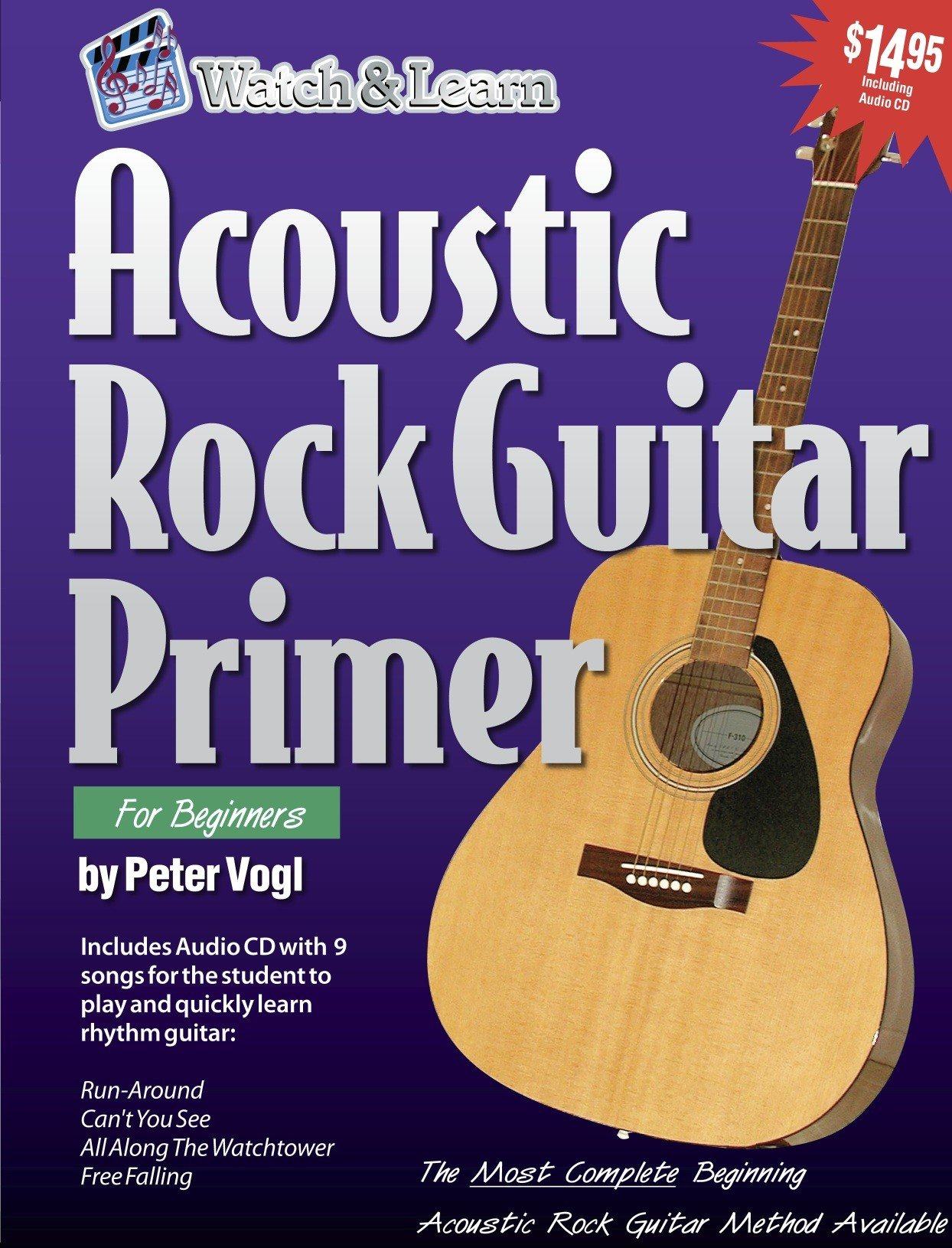 Acoustic Rock Guitar Primer Book/CD [Instant Access]