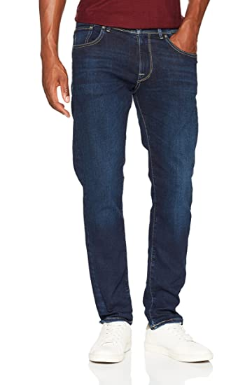 Mens Straight Jeans Selected AQBKFP