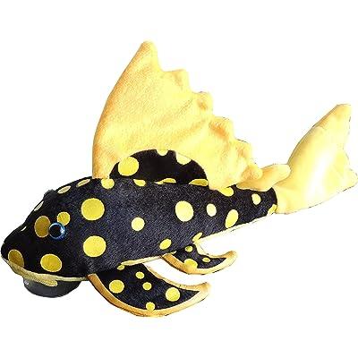 GreenPleco Plecostomus Sunshine 12 inch Fish Plush: Toys & Games