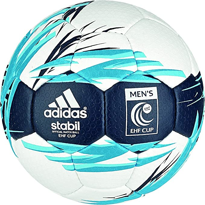 adidas Stabil EHF Cup - Balón de Balonmano, Color Blanco/Azul ...