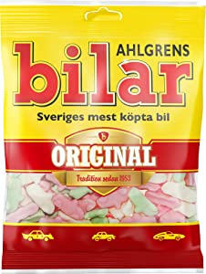 Ahlgrens Bilar ORIGINAL Swedish Chewy Candy Sweets Bag 125g.