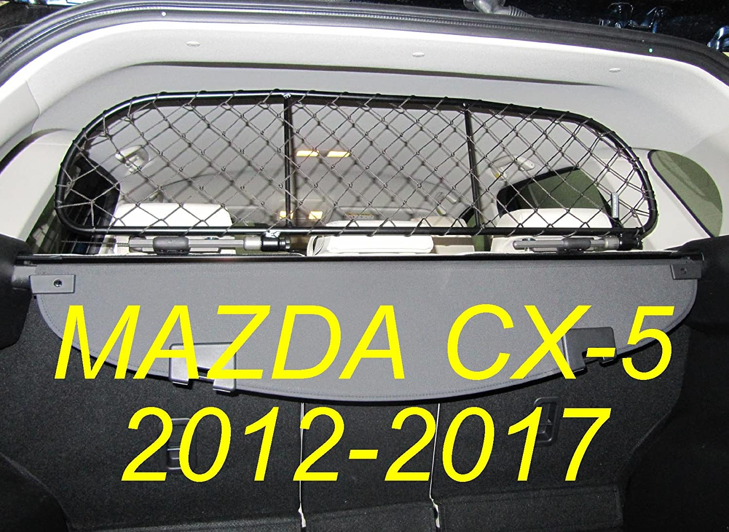 Dog Guard, Pet Barrier Net and Screen RDA65S for Mazda CX-5, car Model Produced from 2012 to 2017, for Luggage and Pets