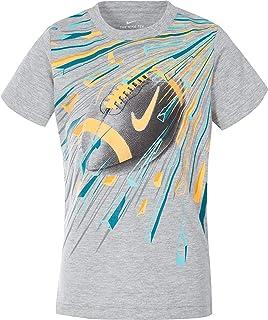 Nike Little Boys' Explosive Football T-Shirt - DK Grey Heather, 6