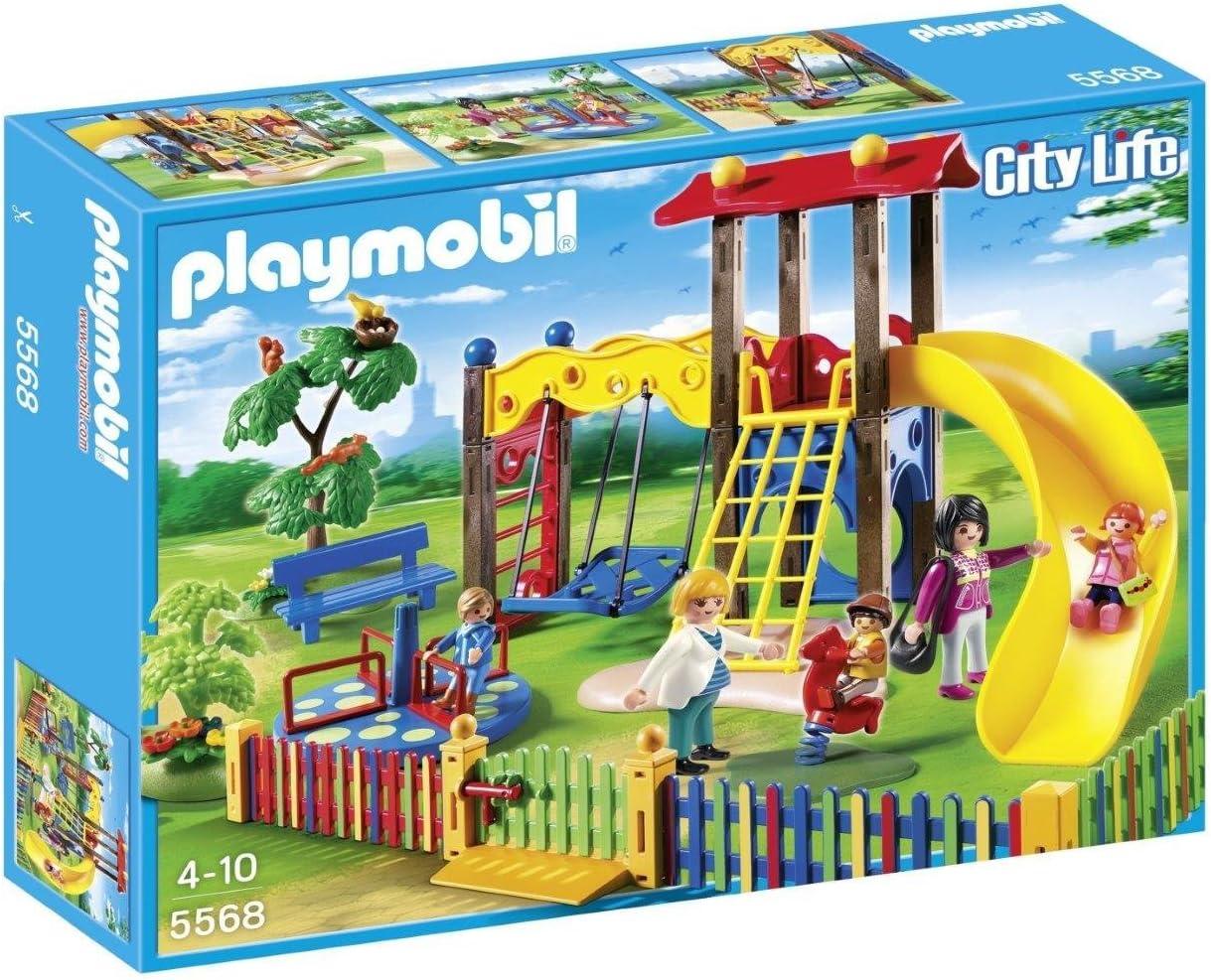 PLAYMOBIL Guardería - Zona de Juegos Infantil, playset (5568 ...