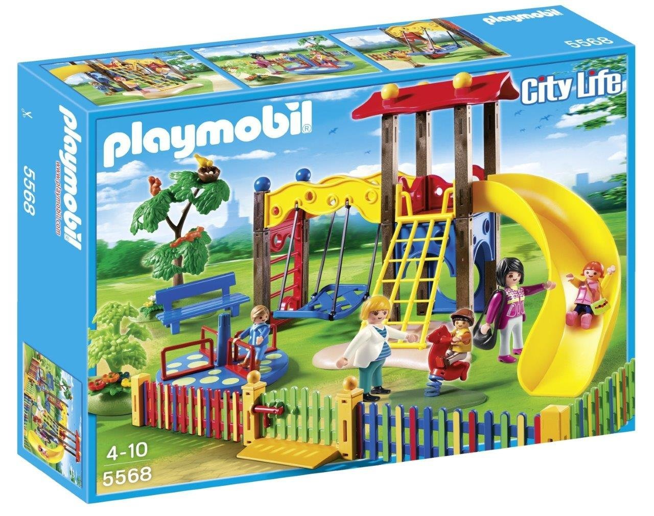 playmobil guardera zona de juegos infantil playset