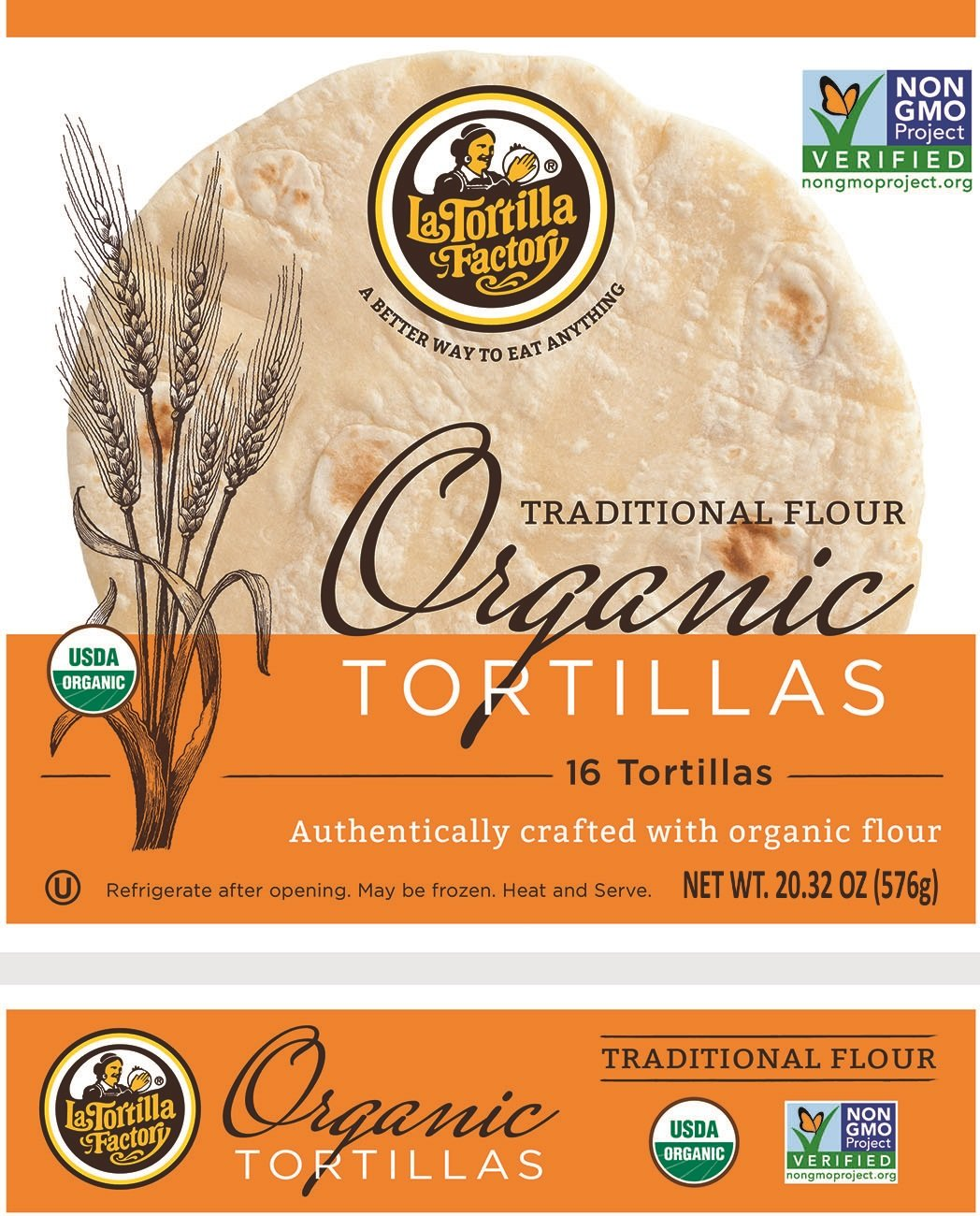 La Tortilla Factory Corn Yellow, 8.46 oz, 8 ct: Amazon.com