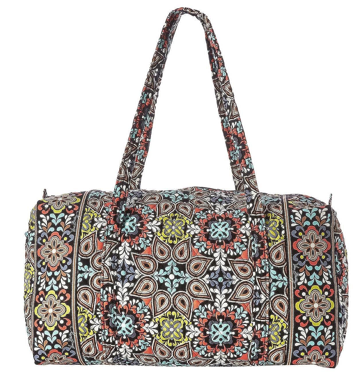 Vera Bradley Luggage Womens Large Duffel Sierra Duffel Bag