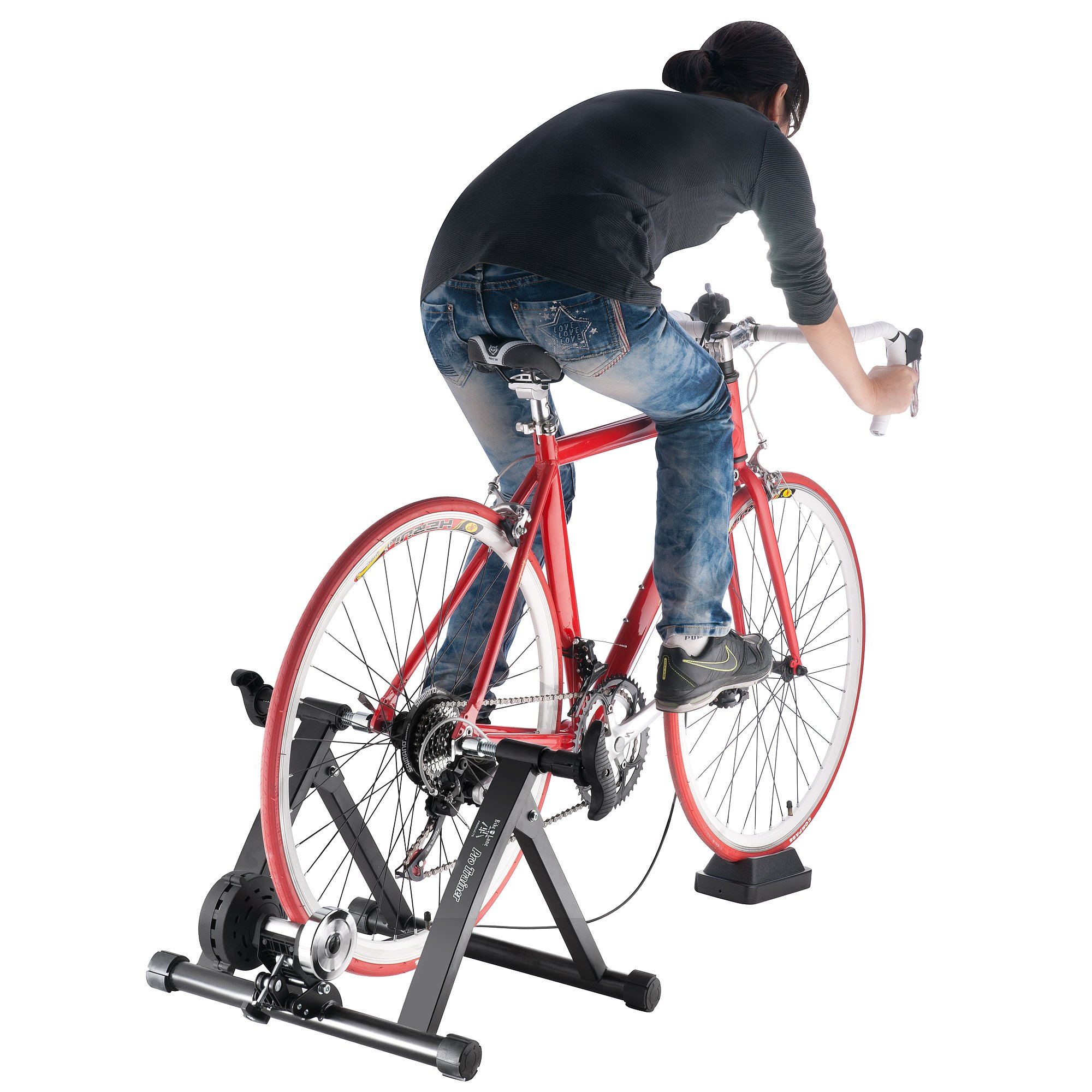 Bike Lane Pro Trainer Bicycle Indoor Trainer Exercise Machine Ride All Year by Bike Lane (Image #4)