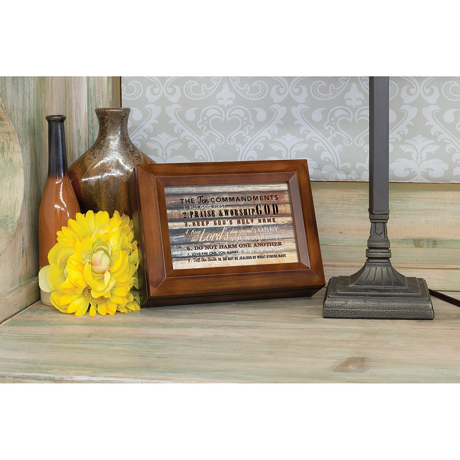 Amazon Cottage Garden The Ten mandments Woodgrain Digital