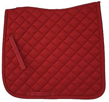 Lami Cell Basic Tapis De Selle De Dressage Rouge Amazonfr Sports
