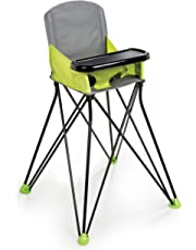Summer Infant Pop 'N Sit Portable High Chair, Lime