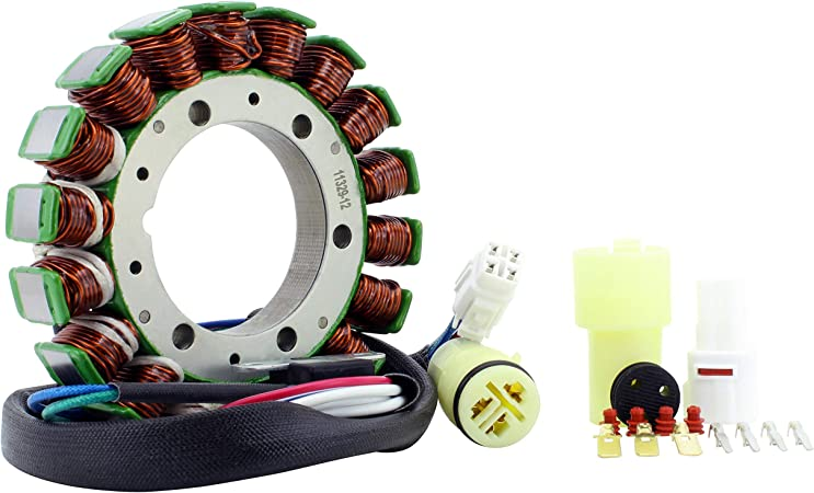 OEM Repl.# 5GH-81410-00-00 5ND-81410-00-00 Stator for Yamaha YFM 400 Grizzly YFM 400 Kodiak YFM 450 Grizzly YFM 450 Kodiak YFM 450 Wolverine 2000-2014