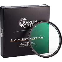 Berlin Optix Premium UV Filter 72mm Schott-Glas 16 Schichten MC super Slim Aluminium ultraviolett Objektiv Schutzfilter