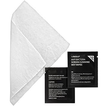 VSGO 60 del paquete antibacteriana paños de limpieza Toallitas húmedas Wet Wipes para smartphone iPhone Tablet