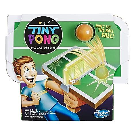 Amazon Com Tiny Pong Solo Table Tennis Kids Electronic Handheld