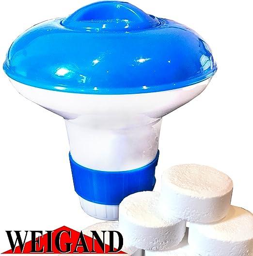 Weigand Mini dosificadora Flotador para hasta 10 Pastillas DE 20 ...