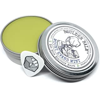 Boulder Balm: Dry Skin Salve for Active Hands & Body Hemp Oil Herb Infused Healing