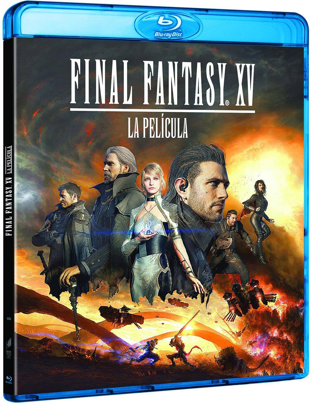 Final Fantasy XV: La Película [Blu-ray]: Amazon.es: Aaron Paul ...