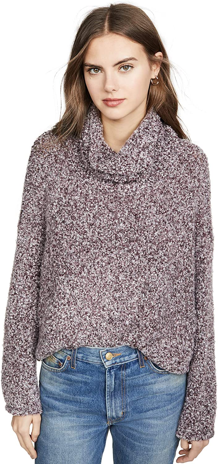 Free People Womens OB941525 Sweater Relaxed Sky Multicoloured Size XS