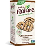Back to Nature Cookies, Non-GMO Fudge Striped Shortbread, 8.5 Ounce (Packaging May Vary)