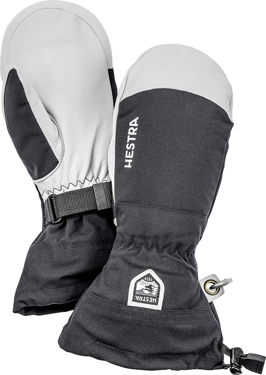 Hestra Army Leather Heli Ski Glove - Classic Snow Mitten for Skiing and Mountaineering: Clothing
