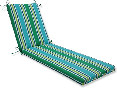 Pillow Perfect Outdoor/Indoor Aruba Stripe Chaise Lounge Cushion Review