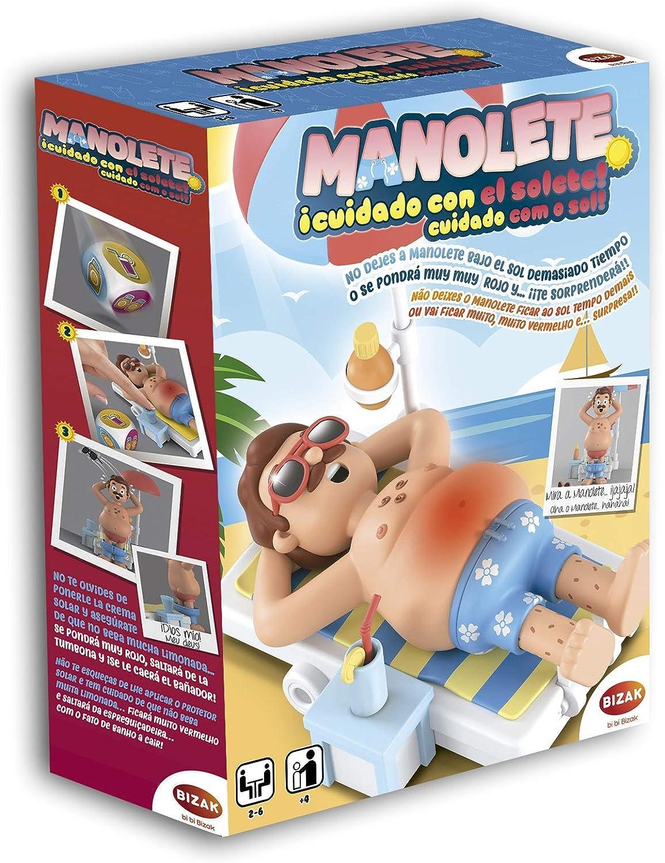 Juegos Bizak Manolete Cuidado con el Solete (BIZAK 35001920)