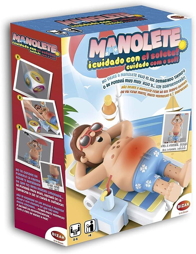 Juegos Bizak Manolete Cuidado con el Solete (BIZAK 35001920): Amazon.es: Juguetes y juegos