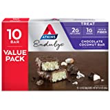 Atkins Endulge Treat Chocolate Coconut Bar. Rich Coconut & Decadent Chocolate. Keto-Friendly. Value Pack (10 Bars)