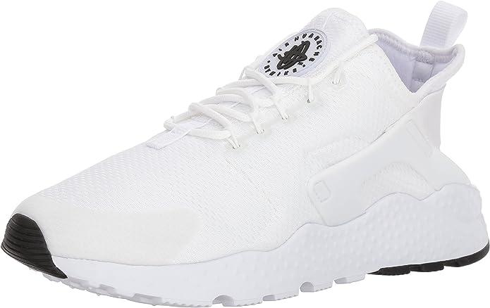 Nike Air Huarache Run Ultra, Zapatillas de Gimnasia para Mujer, Blanco (White/white-white-black), 39 EU: Amazon.es: Zapatos y complementos