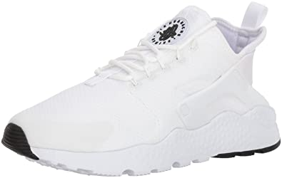 Nike Air Huarache Run Ultra, Baskets Femme, Blanc (White,Black),