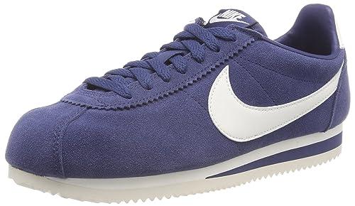 Classic Cortez Se, Zapatillas de Deporte para Hombre, Multicolor (Navy/Sail 401), 45 EU Nike