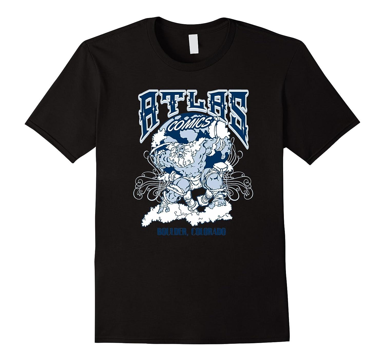 Atlas Comics T Shirts For Women Graphic Tee For Men-Art