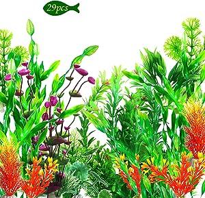 OrgMemory Artificial Aquarium Plants